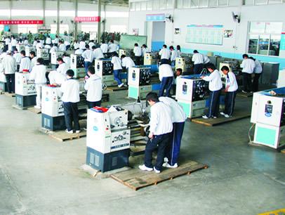 青岛黄海学院机械加工技术实训基地